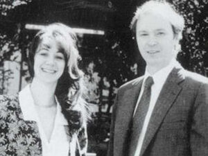 Leonard Bosack with his ex-wife Sandy Lerner